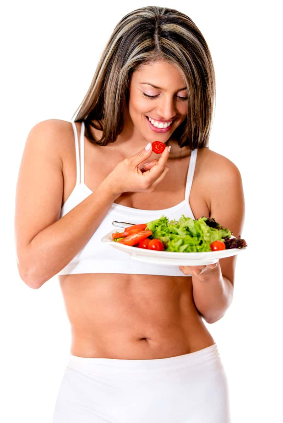 Woman dieting